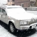 1月18日の大雪でもラシーンは快適